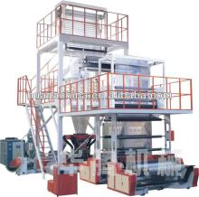 SJX3-FM1700 three-layer co-extruding plastic film blowing machine