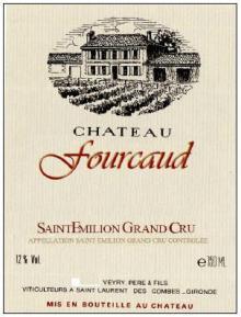Chateau Fourcaud 2010 Saint Emilion Grand Cru
