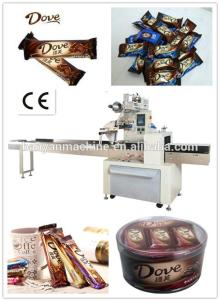 Best Seller for 2014 Horizontal chocolate candy bar wrapping machine