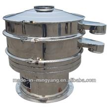 self- cleaning  circular sieving machine for desiccated coconut made in MingYang