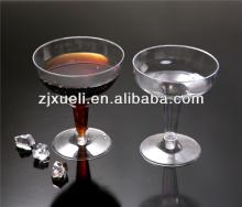 plastic red wine glass,disposable plastic cup