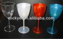 plastic red wine cup with halloween design tritan goblet