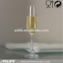 AS98CP25-250ml Lead Free Crystal Glass Champagne Flute!2014 Summer  Hot   Sale   Item s!Custom Short Stem