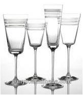 High Quality Handmade Decorative Champagne Flutes Glass for Wedding