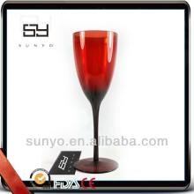 Wholesale Good Quality Hand Blown Colorful Glassware Red