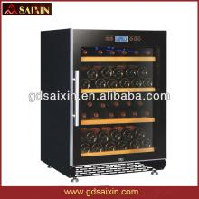 SRW-54S Slient Red Wine Cabinet, Wine Cooler with Single- Zone