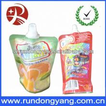 colourful design stand up frozen  yogurt  packaging bag for kids
