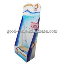 Customized Cardboard Lollipop Display With Hook Hanging