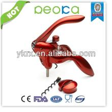 metrokane houdini lever red wine opener/Zinc Alloy