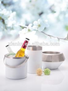 stainless steel bar set with fashional champagne bucket