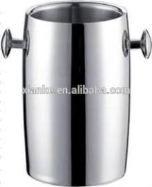 Factory wholesale 2.0L stainless steel insulated ice bucket champagne cooler