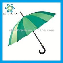 Best price red wine 170t polyester straight umbrella