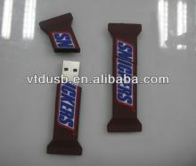 Candy USB flash drive sticks for promo gift pens chocolate bar key pen thumb driver
