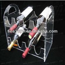 2013 high quality acrylic red wine rack