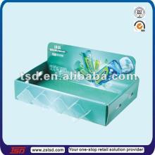 TSD-C07 cardboard counter top  Wrigley   chewing   gum  display/stands for  chewing   gum  display/ chewing   gum