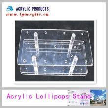 Acrylic Pop Round Lollipop Display