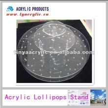 Acrylic Pop Round Lollipop Display.Lollipop Stand