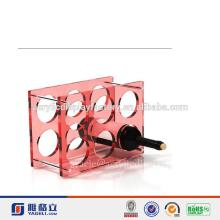 NEW Design!!!Factory Manufacturing Custom Modern Stylish Look Acrylic Red Wine Rack In High Quality