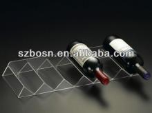 Red wine bottles display racks,Acrylic red wine display