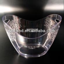 Acrylic champagne ice bucket