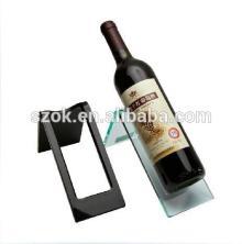High quality acrylic red wine bottle rack, acrylic wine rack