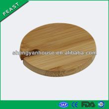 High Quality bamboo Lid , Ceramic mug with lid, Ceramic Coffee cup lids