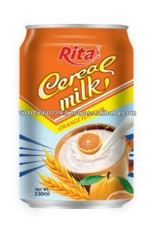 Orange Flavor Cereal Milk