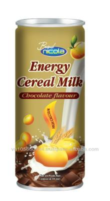 FLAVORED CHOCOLATE CEREAL MILK