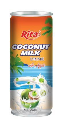 Best seller Coconut milk with juice flavors