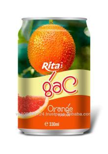 Orange Flavor Gac Fruit Juice