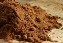alkalized cocoa powder from ghana cocoa bean