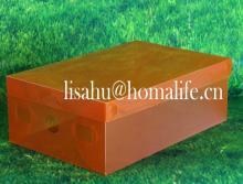 Gift handmade shoe shaped chocolate box for men