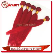 good quality unprocessed virgin Wholesale peruvian red wine hair color