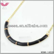 D12587 Europe and the  United   State s exaggerated round crystal false collar wild accessories necklace