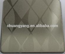Champagne Gold color steel sheet