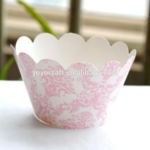 wholesale wedding supplies festival supplies printed chocolate bar  wrapper s printed  cupcake   wrapper s