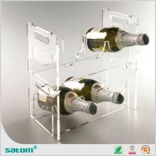 acrylic red wine holder with hole for  hotel  from Guangzhou Satom