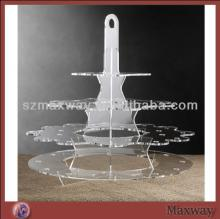 2014 Hot Selling Large Lovely Square Plastic/Acrylic Lollipop Cake Pop Display Stand