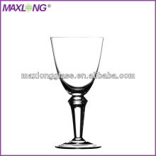 Hot sale mouth blown thick stem red wine glass products china hot sale mouth blown thick stem - Wine glasses with thick stems ...