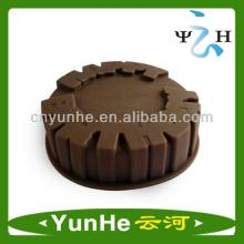 wholesale high quality Kitchenware  cookies   cutter  Silicone bakeware cake baking mold of factory dire