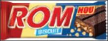Rom Authentic Biscuit Chocolate Bar