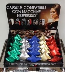 Compatible Nespresso capsules Decaffeinated