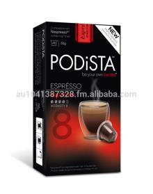 Nespresso Compatible Capsules/Pods PODiSTA - Supremo