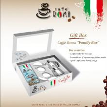 Caffe Roma gift box Family