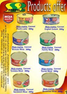 Moja Marka -  canned   meat