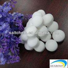 high purity salt tablets for purify drinking machine,water softening agent,water treatment salt