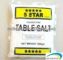 5 star quaity 99.5% pure dried vacuum salt
