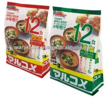 Quick  serve instant miso soup soya food made in Japan