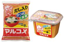 High quality miso matches with richer taste food made in Japan and used in japan