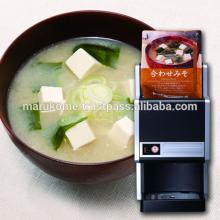 High quality miso machine matches with hot soup dispenser machine made in Japan and used in japan